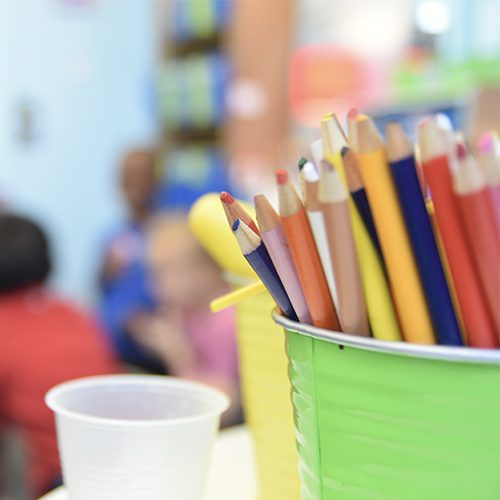 Image of elementary classroom