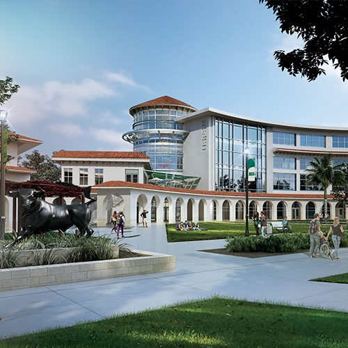 image of future USF Building