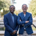 Photo of Jean Kabongo, PhD and Thomas Becker, PhD