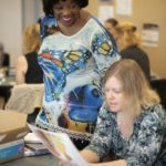 Denise Davis-Cotton at a workshop